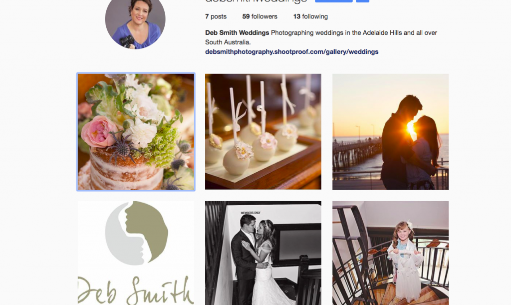 Use instagram to find ideas for planning your adelaide wedding